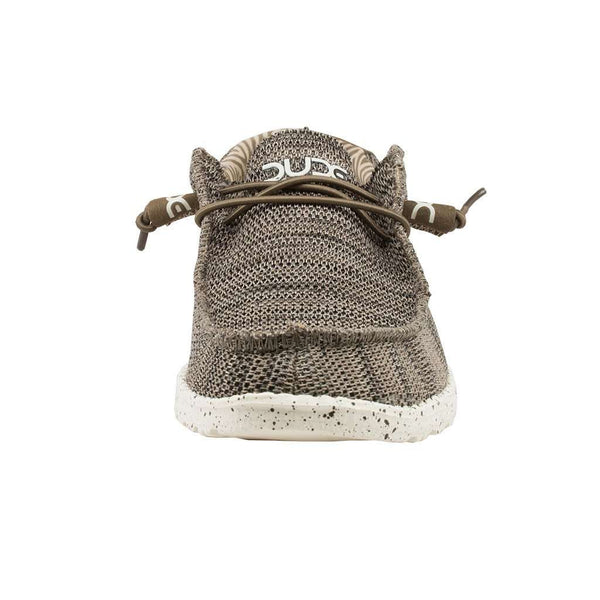 Wally Sox Shoe in Brown by Hey Dude