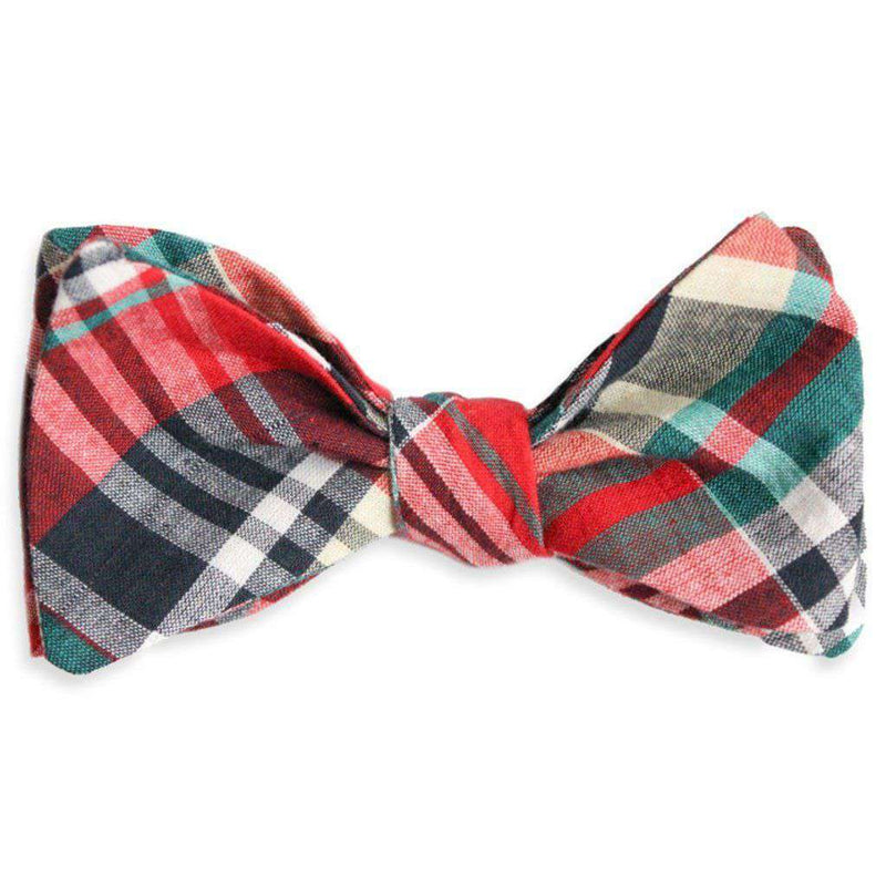 Eseeola Madras Bow Tie by High Cotton - FINAL SALE