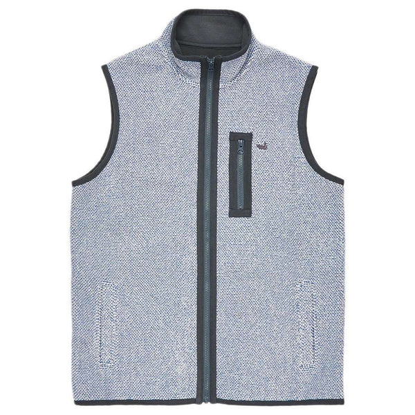 Highland Alpaca Vest in Washed Blue by Southern Marsh  - 1