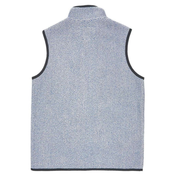 Highland Alpaca Vest in Washed Blue by Southern Marsh  - 2