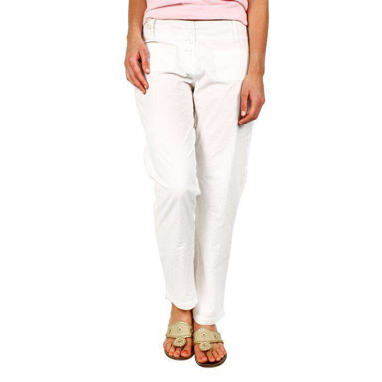 Beach Capri Pants in White by Hiho  - 1