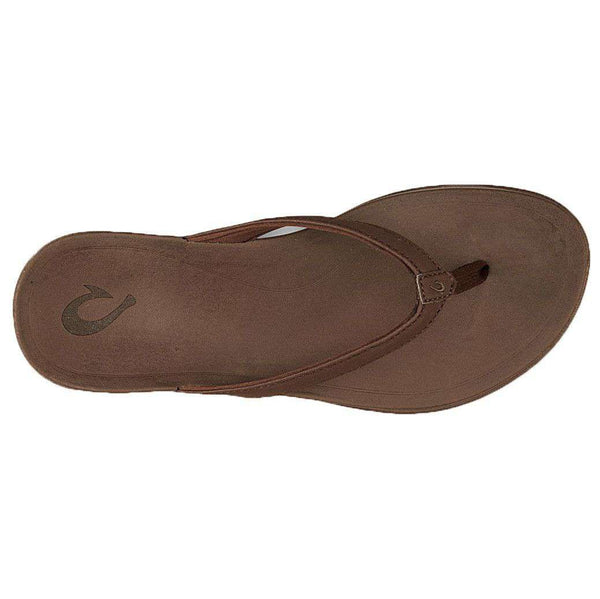 Women's Ho'opio Sandal in Kona Coffee Brown by Olukai - FINAL SALE