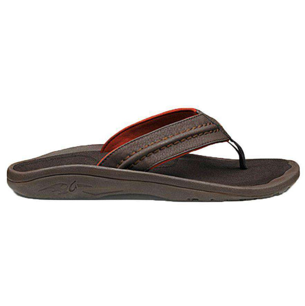 Men's Hokua Sandal in Dark Java by Olukai  - 1