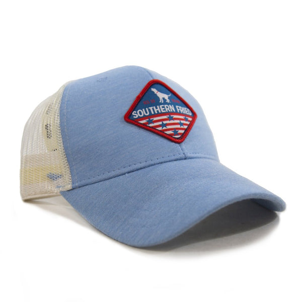 American Patch Structured Low Pro Mesh Hat by Southern Fried Cotton