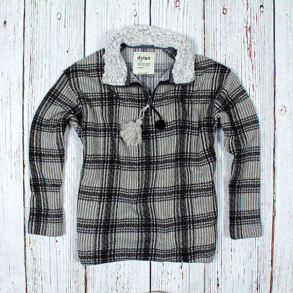 Country Club Prep Natural and Black Plaid / XS