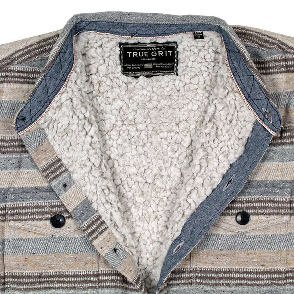 True Grit Silverton Stripe Summit Shirt Jacket by True Grit