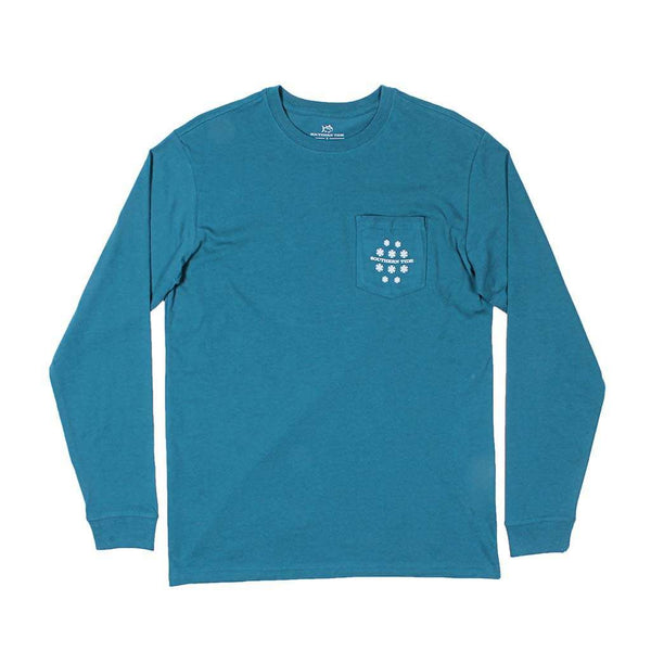 Southern Tide Long Sleeve Holiday Ready T-Shirt by Southern Tide