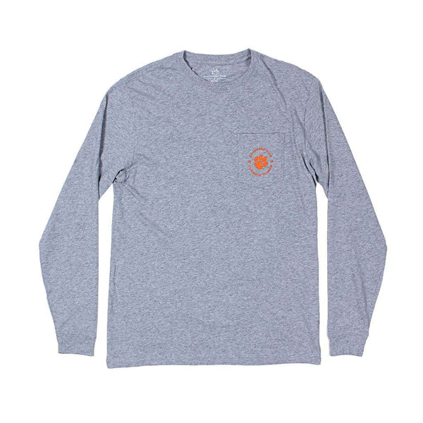 Southern Tide Long Sleeve Clemson T-Shirt by Southern Tide