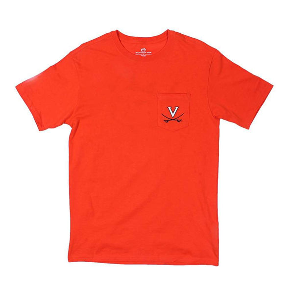 Southern Tide Virginia Collegiate Mascot T-Shirt by Southern Tide