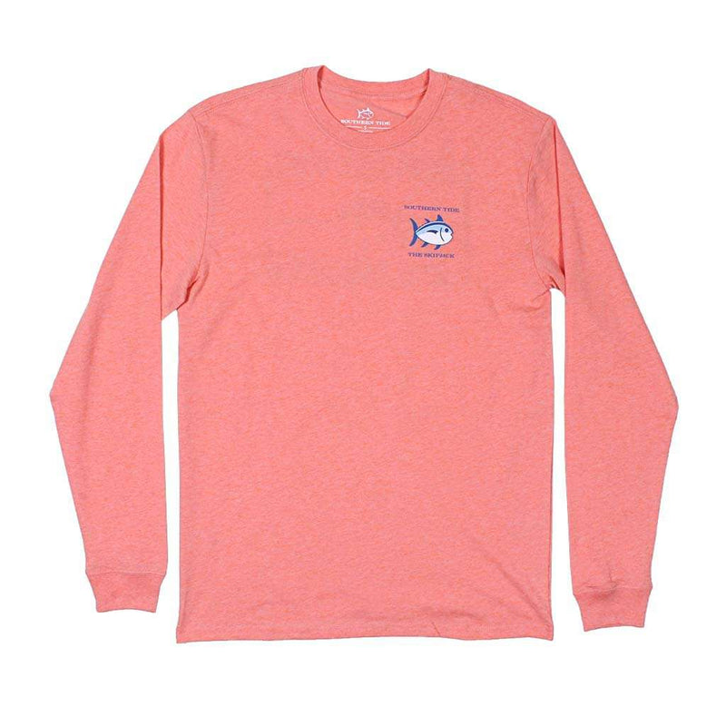 Southern Tide Long Sleeve Heathered Original Skipjack T-Shirt by Southern Tide