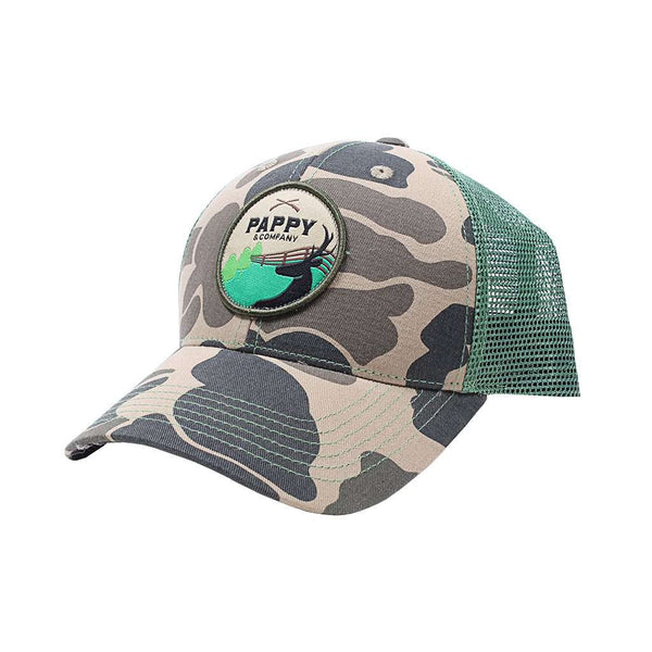 Pappy & Company Retro Camo Trucker Hat by Pappy & Company