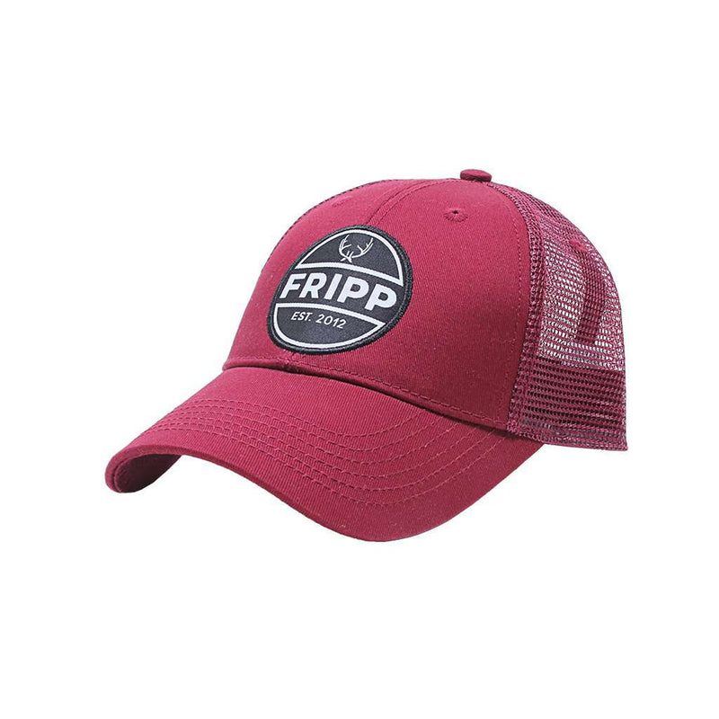 Fripp & Folly Antler Logo Mesh Hat by Fripp Outdoors