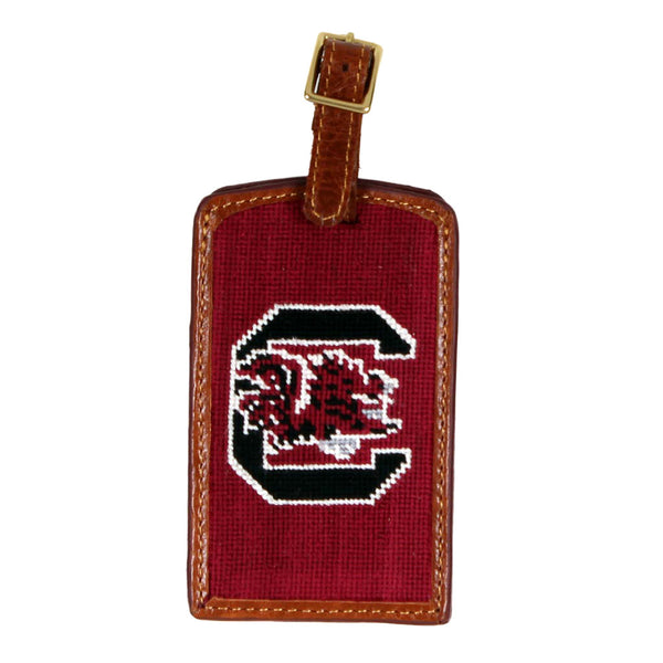 University of South Carolina Needlepoint Luggage Tag by Smathers & Branson