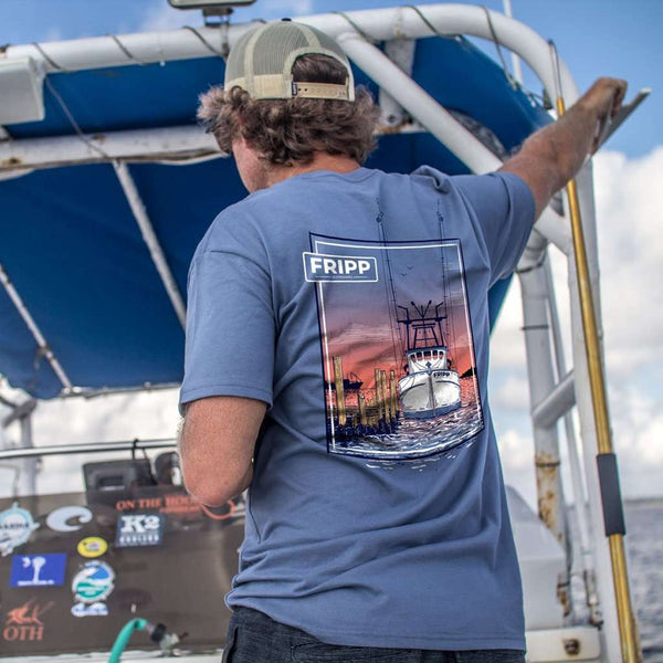Fripp & Folly Shrimp Boat T-Shirt by Fripp Outdoors
