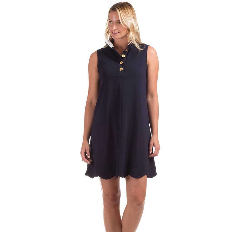 Duffield Lane Scallop Kingston Dress by Duffield Lane