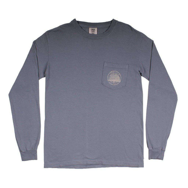 American Classic Long Sleeve Tee in Granite by Live Oak - FINAL SALE