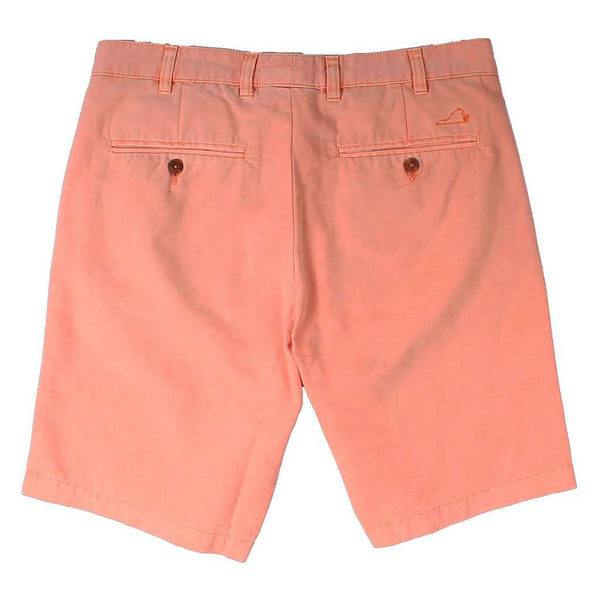 The Charlottesville Orange Short by Country Club Prep - FINAL SALE