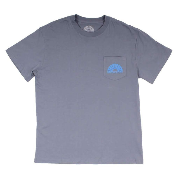 Fisher Simple Pocket Tee in Grey by Waters Bluff - FINAL SALE