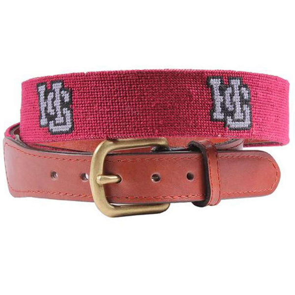 Hampden-Sydney College Needlepoint Belt by Smathers & Branson