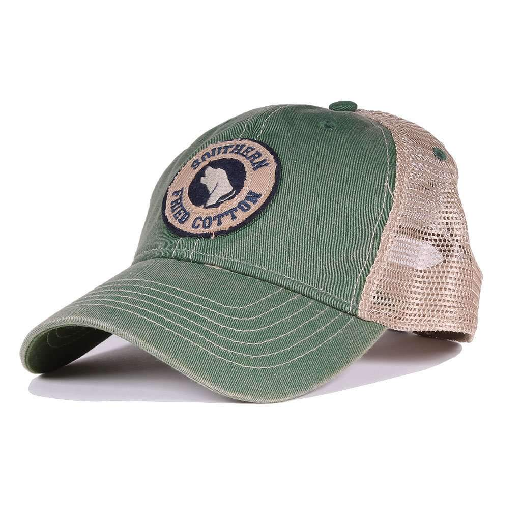 Howlin' Around Trucker Hat in Kelly Green by Southern Fried Cotton