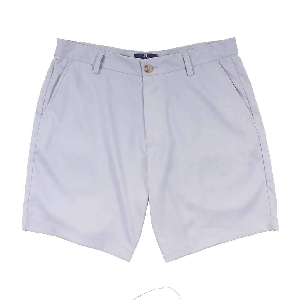 Southern Point Co. Performance Short in Light Grey