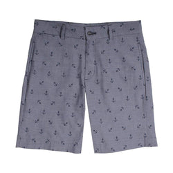 Country Club Prep The Captain Shorts in Grey