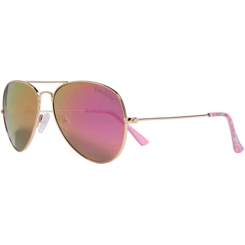 Lexy Sunglasses in Shellebrate With Coral Lenses by Lilly Pulitzer