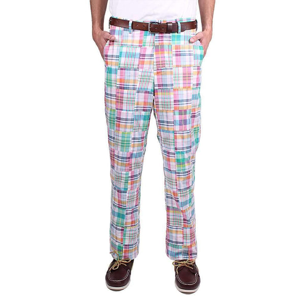 Country Club Prep New Pastel Madras Pants
