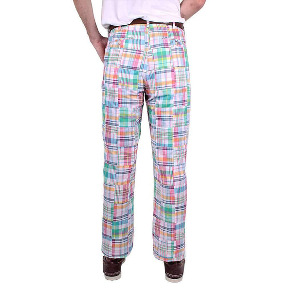 New Pastel Madras Pants by Country Club Prep