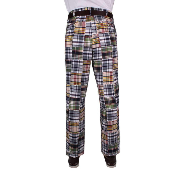Traditional Madras Pants by Country Club Prep