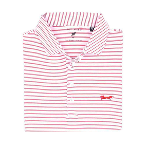 Country Club Prep M / White & Crimson