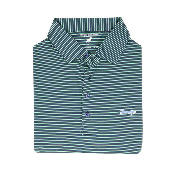 Country Club Prep M / Navy & Island Green