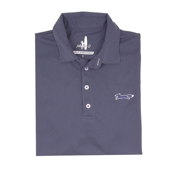 Johnnie-O The Longshanks Fairway Prep-Formance Polo in Midnight