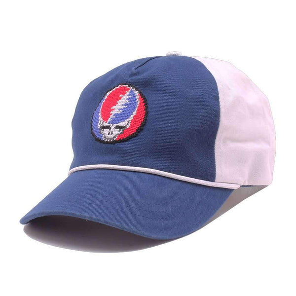 b4b1265f006 Steal Your Face Rope Snapback Hat in Navy   White by Smathers   Branson