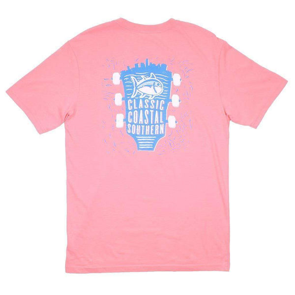 Classic Southern Concert T-Shirt in Light Coral by Southern Tide