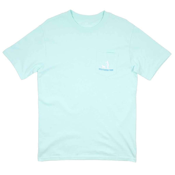 Rise For The Occasion T-Shirt in Offshore Green by Southern Tide