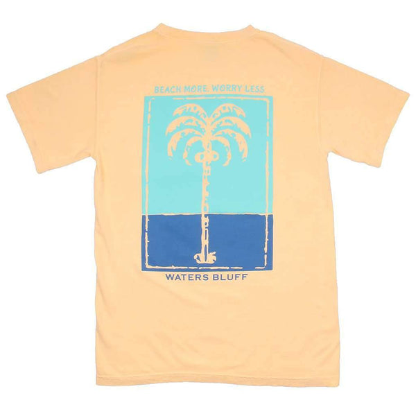 Palm OG Pocket Tee in Butter by Waters Bluff