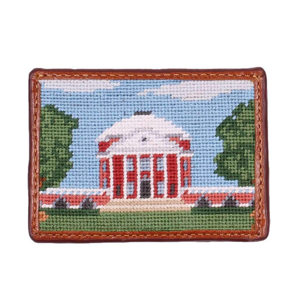 Smathers & Branson Rotunda Needlepoint Credit Card Wallet