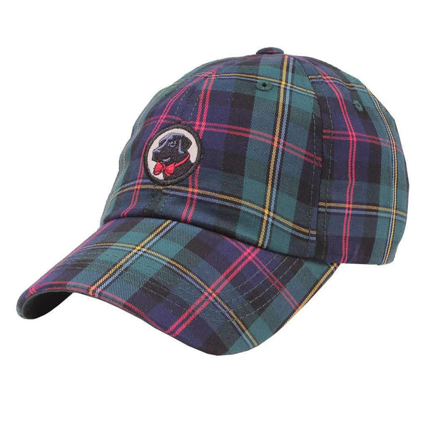 Plaid Frat Hat in Pineneedle by Southern Proper - FINAL SALE