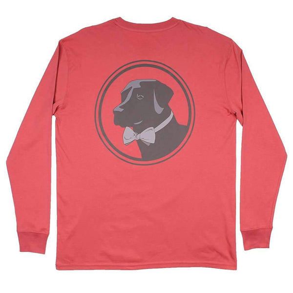 Long Sleeve Original Logo Tee in Dusty Cedar by Southern Proper