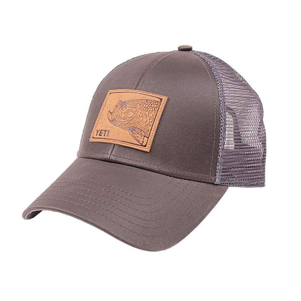 YETI Tarpon Patch Mid Pro Trucker Hat in Brown by YETI