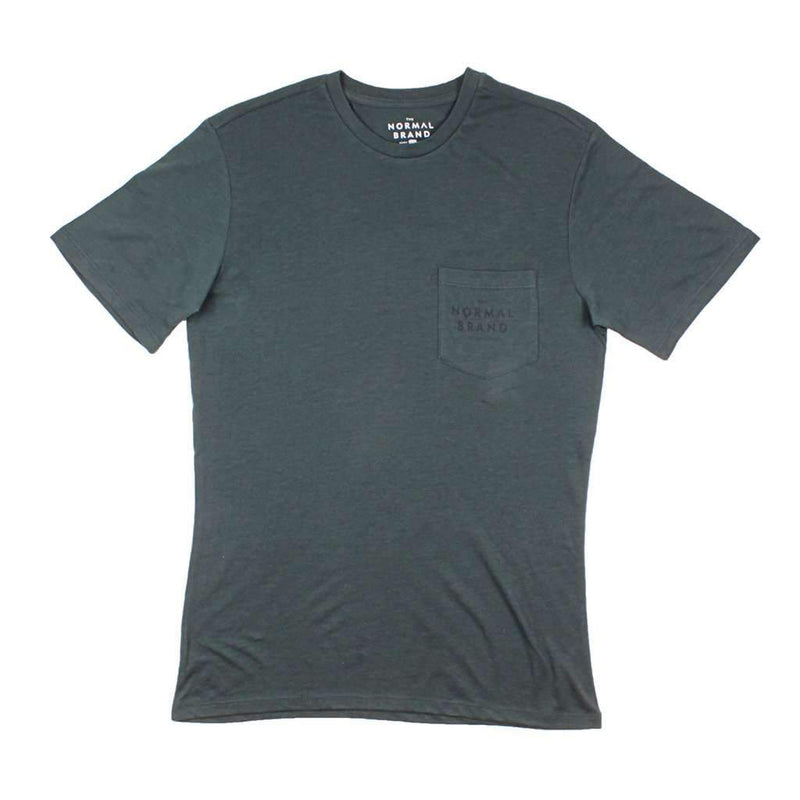 The Normal Brand Worn in Bear Tee in Green Gables by The Normal Brand