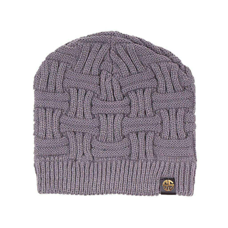 Beanie in Grey by Simply Southern