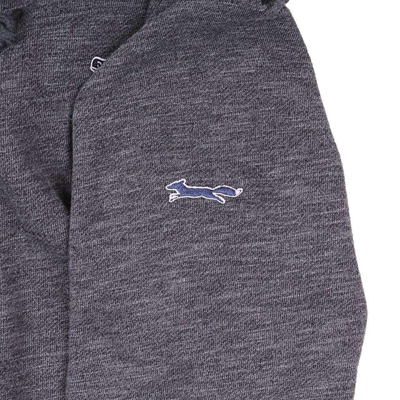Full Zip Hoodie in Medium Heather Grey by Vineyard Vines