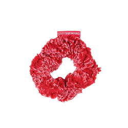 Fleece Scrunchie in Cranberry by Live Oak