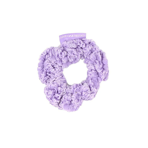 Fleece Scrunchie in Lilac by Live Oak