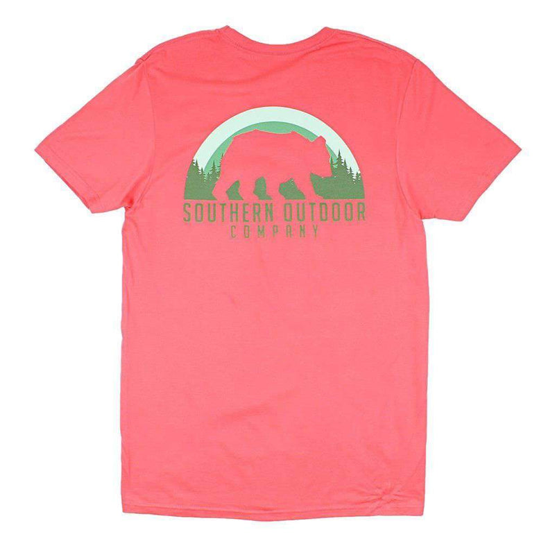 Southern Outdoor Co. Bear Short Sleeve Tee in Nantucket Red