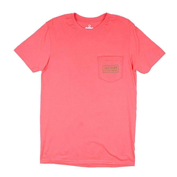 Bear Short Sleeve Tee in Nantucket Red by Southern Outdoor Co. - FINAL SALE