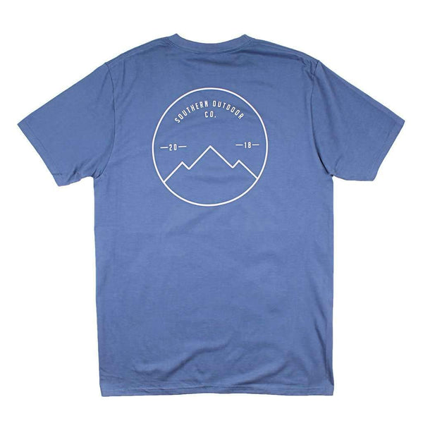 Southern Outdoor Co. Seal Logo Short Sleeve Tee in Navy