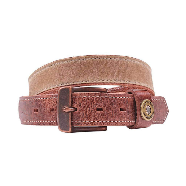 Over Under Clothing The Waxed Canvas Belt